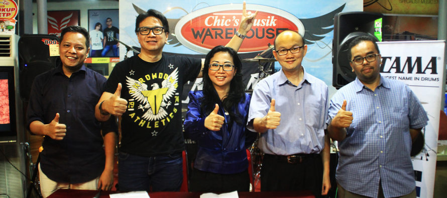 """TAMA Drum Gelar Ajang """"TAMA Groove Session Indonesia 2017"""""""