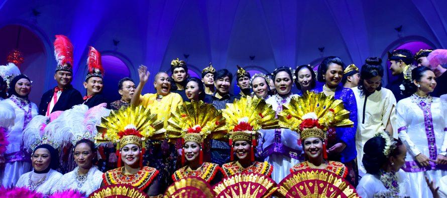 Malam Gembira Untuk Merayakan Karya Cipta Guruh Sukarno Putra Sukses Digelar