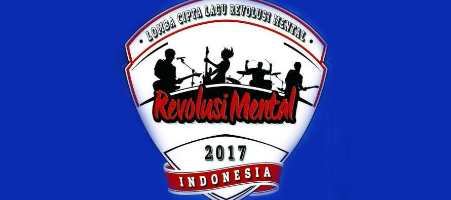 Pemenang Lomba Cipta Lagu Revolusi Mental 2017
