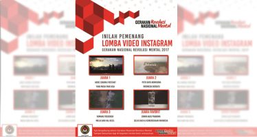 Pemenang Lomba Video Instagram Gerakan Revolusi Mental