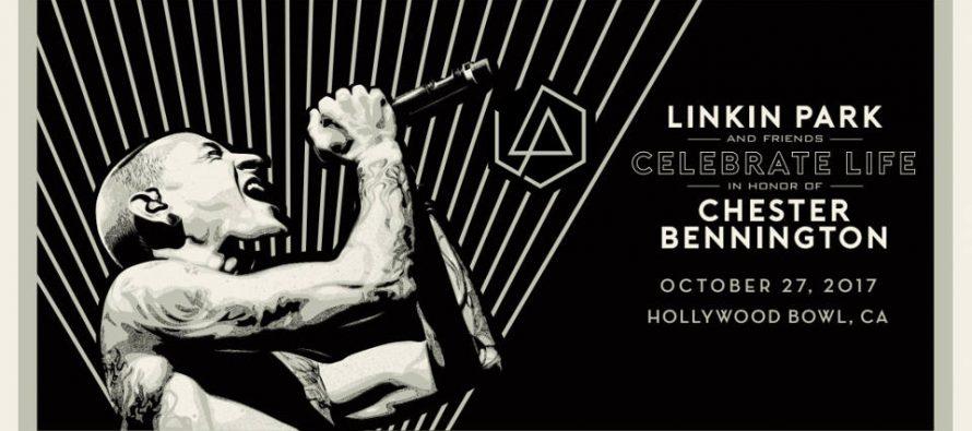 Konser Linkin Park untuk menghormati Chester Bennington