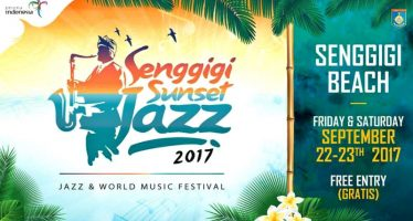 Menikmati Pantai Di Senggigi Sunset Jazz 2017