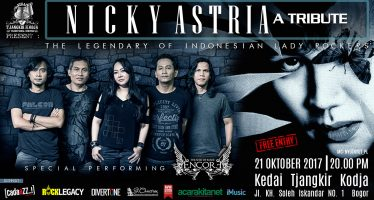 Apresiasi Untuk Nicky Astria Dalam Event Nicky Astria A Tribute