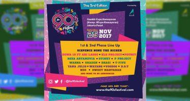 Inilah Line Up Phase Kedua dari Perhelatan Event The 90s Festival