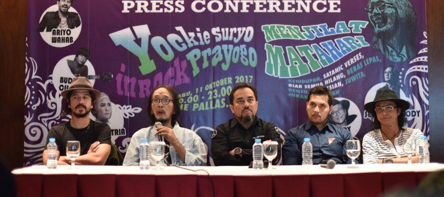 "Yockie Suryo Prayogo Gelar Konser Rock ""Menjilat Matahari"""