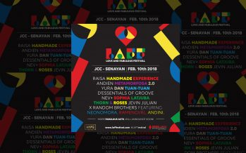 Raisa Handmade Experience, Line up Phase 1 LAFFestival