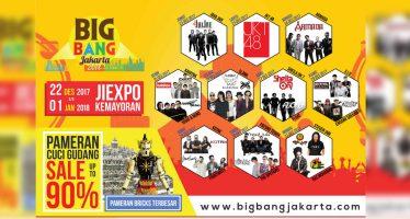 Penutupan Bigbang Jakarta 2017 Berlangsung Meriah