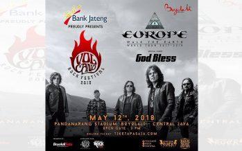 Europe Akan Kembali Konser di Indonesia