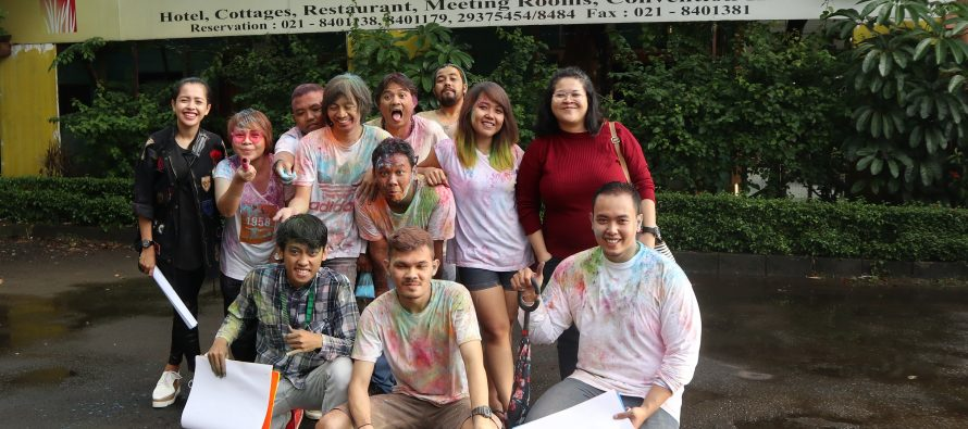 Colour Funwalk, Jargon Acara National Radio Day (NRD) 2018
