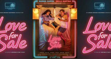 Keseruan Gading Marten Dalam Film Love for Sale Yang Dirilis Hari Ini