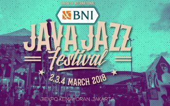 Java Jazz 2018 Hadirkan Banyak Musisi Ternama Internasional
