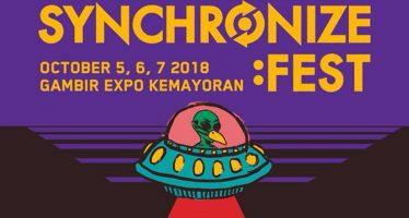 Inilah Profil 114 Line-Up SYNCHRONIZE FEST 2018