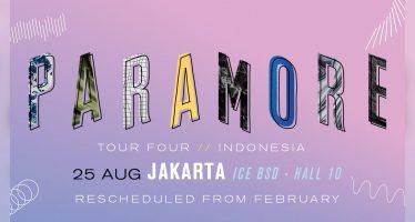 Paramore Gantikan Konsernya Yang Gagal Februari Lalu