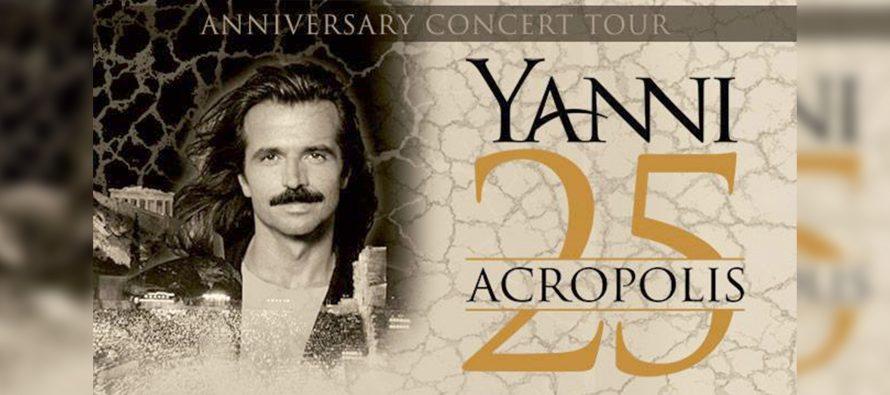 Yanni Dipastikan Tampil Di Candi Prambanan