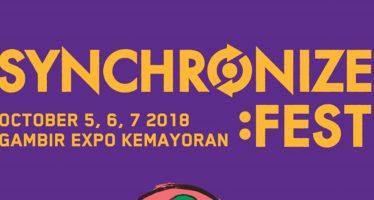 Synchronize 2018 Umumkan Line-Up ketiga