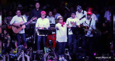Konser Penggalangan Dana Untuk Lombok Berhasil Raih Dana Sebesar Rp.2.339.929.500
