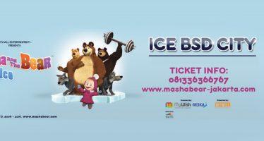 Pertunjukan Masha And The Bear Akan Tampil Di ICE BSD 17 Agustus Nanti