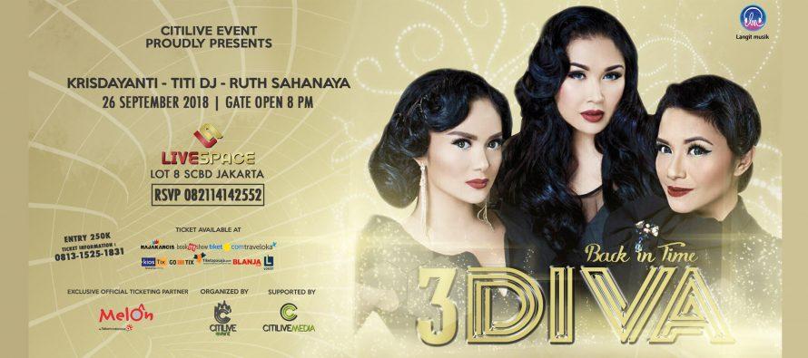 3 Diva Akan Buat Baper Penonton Pada 26 September 2018 Mendatang
