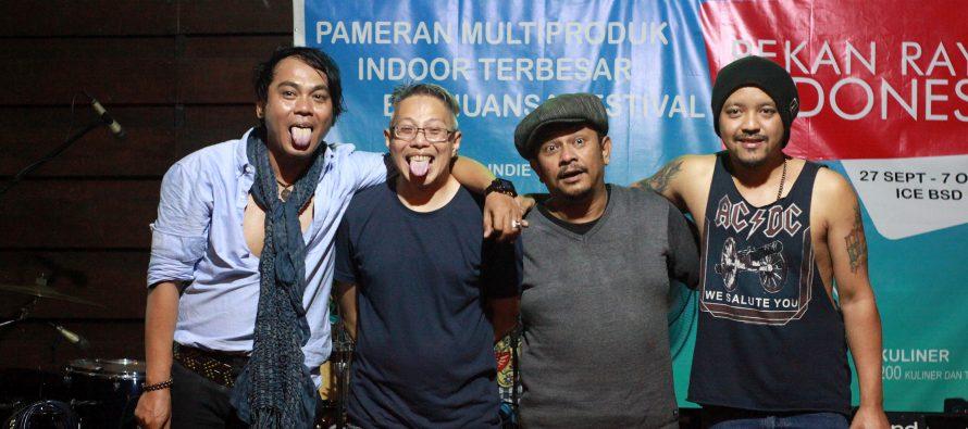 Lama Vakum, D'Gank Siap Meriahkan Panggung International Indie Music Festival 2018