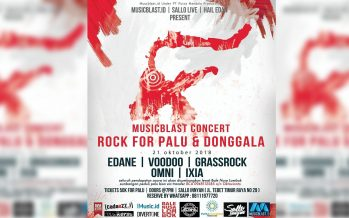 Rocker Bersatu Untuk Palu Dan Donggala
