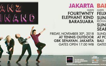 Franz Ferdinand Siap Guncang Jakarta Dan Bali