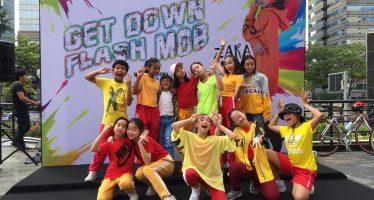 Zara Leola Sukses Warnai Hari Minggu Dengan Lakukan Flash Mob Di CFD
