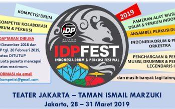 IDP Fest 2019 Kembali Digelar Untuk Manjakan Para Drummer