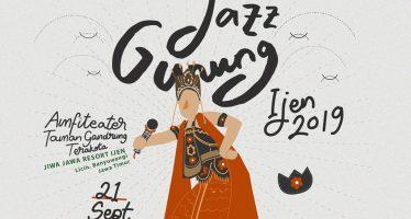 Jazz Gunung Indonesia Persembahkan 'Jazz Gunung Ijen 2019'