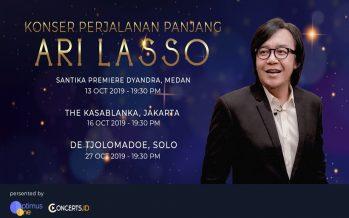 Peringati 27 Tahun Berkarir, Ari Lasso Gelar Konser Perjalanan Panjangnya