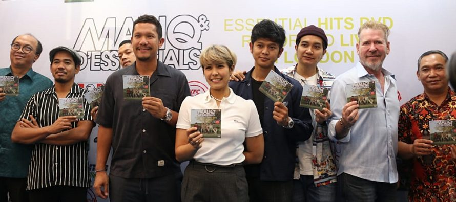 Maliq & D'Essentials Rilis 'DVD Maliq & D'Essentials: Essential Hits Recorded Live In London'