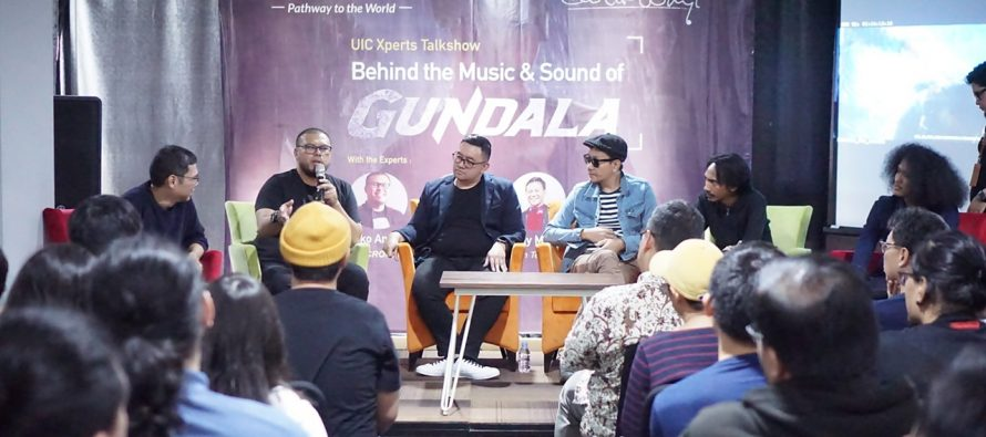 """Lokakarya """"Behind The Music & Sound of Gundala"""" sukses digelar"""