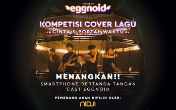 "Jelang Rilis Eggnoid, Nidji Cari Cover ""Cinta & Portal Waktu"" Terbaik."