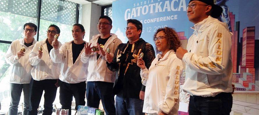 PT Satria Dewa Studio Garap Film SATRIA DEWA GATOTKACA yang Melegenda.