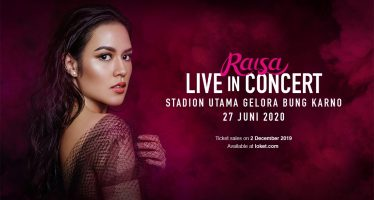Raisa Live in Concert At Stadion Utama Gelora Bung Karno.