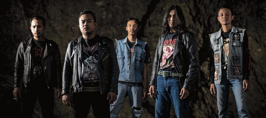 """Rottenblast"" Death Metal Asal Kota Malang Rilis Album Kedua yang Makin Garang dan Gelap."