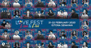 98 Degrees,Hrvy, Sun Rai Dan Sederet Musisi Tanah Air Ramaikan Love Fest 2020