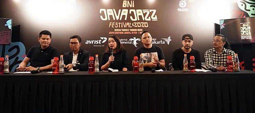 """Java Jazz Festival 2020, """"Redeem Yourself Through Music"""", Tampilkan The Jacksons, Omar Apollo Dan Musisi Tanah Air."""