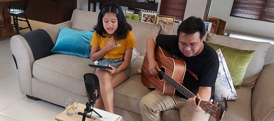 "Suport #diRumahAja, ""Maisha Kanna"" Bikin Live IG & Youtube Untuk Hibur Fansnya."