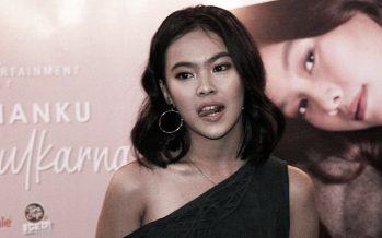 """Marsha Zulkarnain lewat single terbarunya """"Kebodohanku""""."""