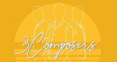 """""""MATAHARI DI MATA HATI"""", Lagu Terbaru  3 COMPOSERS, Perpaduan musik Akustik dan Sound Yang Update."""