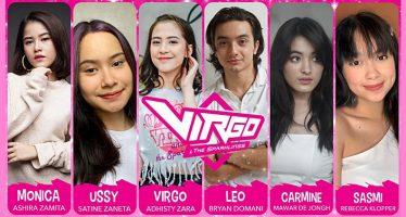 """Pemeran """"Virgo and The Sparklings"""" Diumumkan,  Bryan Domani, Mawar De Jongh Dan Lainnya  Akan Mendampingi Adhisty Zara."""