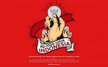 Gerakan Rp.1000 Untuk Indonesia Lawan Covid 19 Libatkan Artis, Musisi dan Tokoh – Tokoh Lintas Profesi.