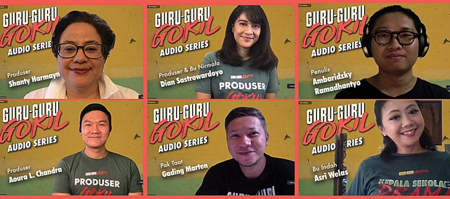 """Serial Bersambung """"Guru-Guru Gokil – Audio Series"""" Ada Dian Sastrowardoyo, Gading Marten, Asri Welas Dan Lainnya."""