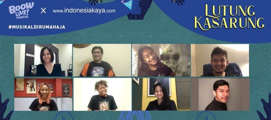 Program #MUSIKALDIRUMAHAJA Ditutup Oleh Episode Lutung Kasarung.