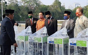 GSUI Bersama Yayasan BUMN Sumbang 50 Wastafel Cuci Tangan Kesemua Rumah Ibadah Di Jabotabek.