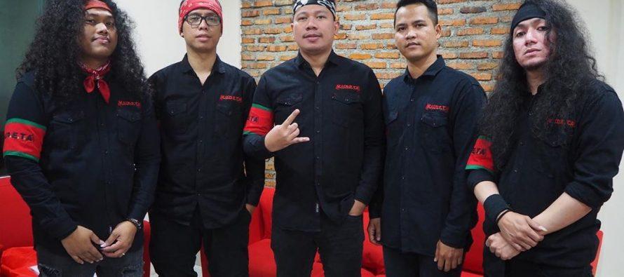 Kudeta Persembahkan Nurani Jiwa Dukung Sang Vokalis Vicky Prasetyo
