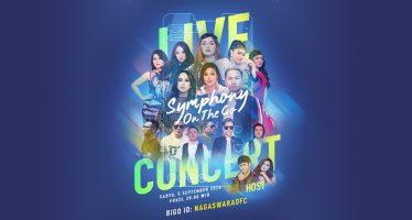"""Bigo Live dan NAGASWARA Menyebarkan Hal Positif Dengan Konser Live """"Symphony On The Go""""."""