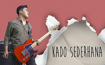 """Yudhistira"" Rekam Ulang Lagu ""Kado Sederhana""."