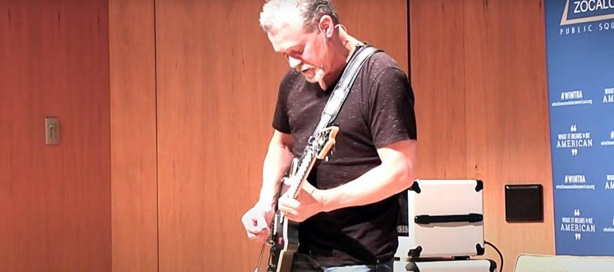 """""""Eddie Van Halen"""" – Gitaris Legendaris Telah Meninggal Dunia Setelah Berjuang  Panjang Melawan Kanker."""