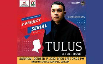 """PSBB Diperpanjang, Original Production Reschedule """"Drive In Concert Serial"""" Bersama TULUS & Full Band."""